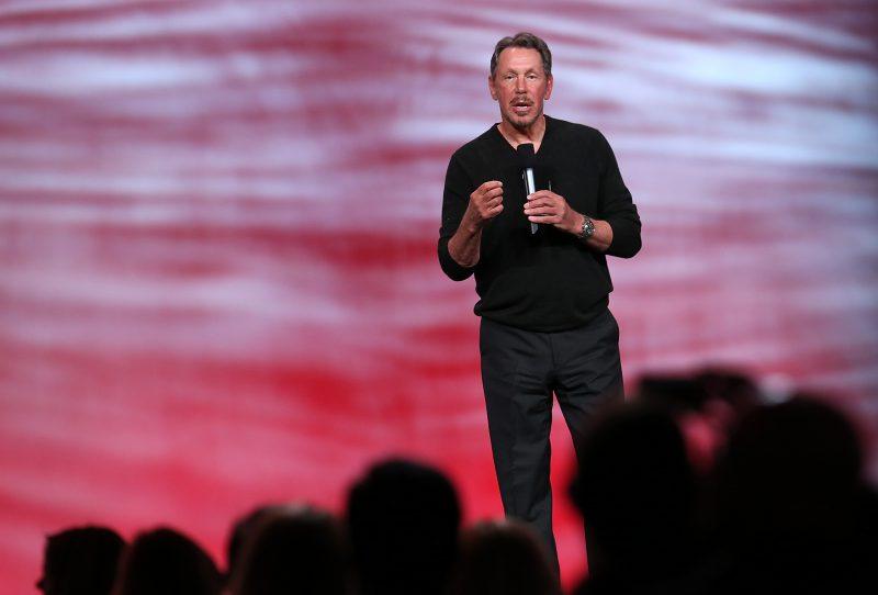 Larry Ellison, fondatore e ceo di Oracle