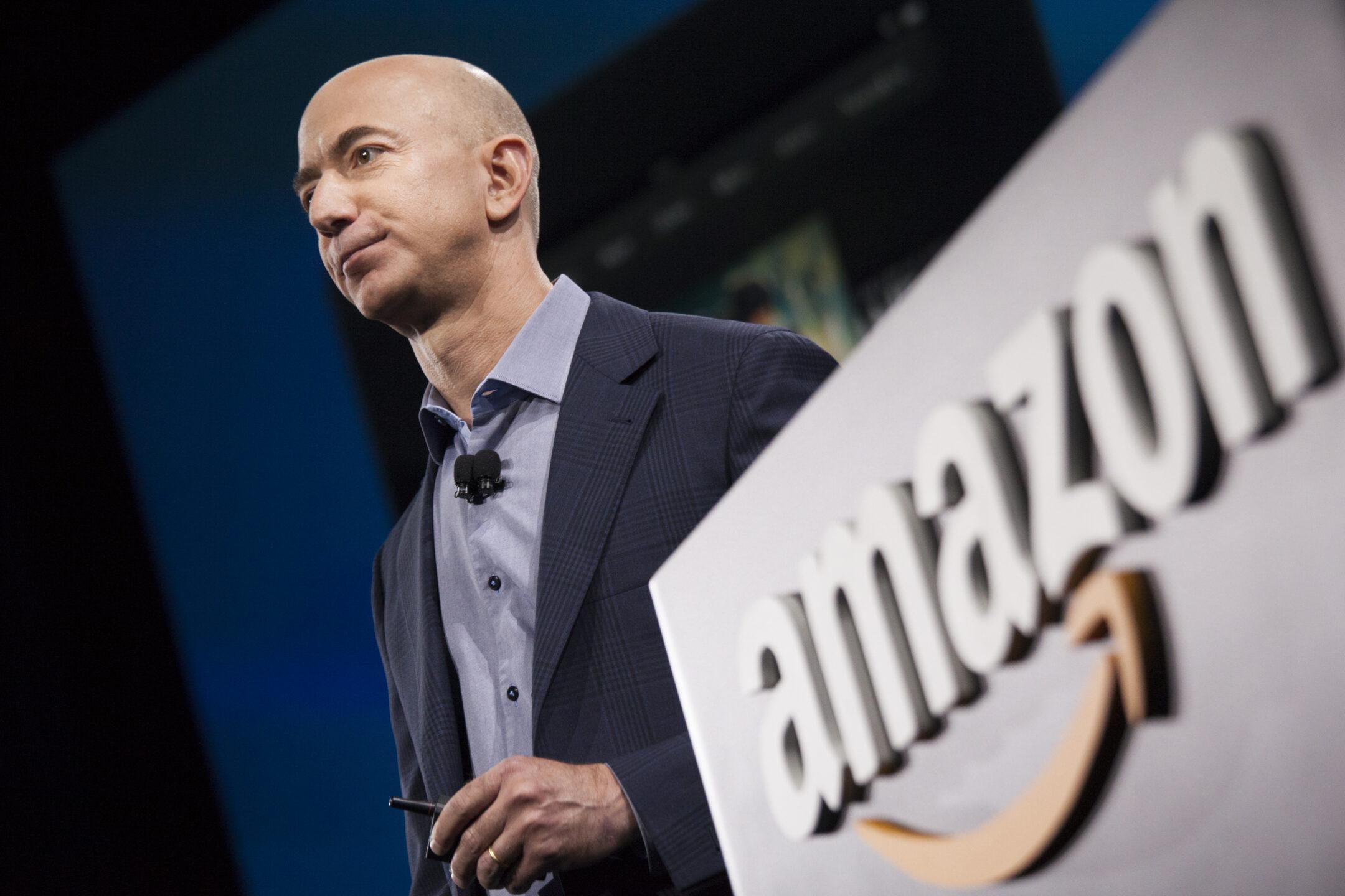 Jeff Bezos ad Amazon