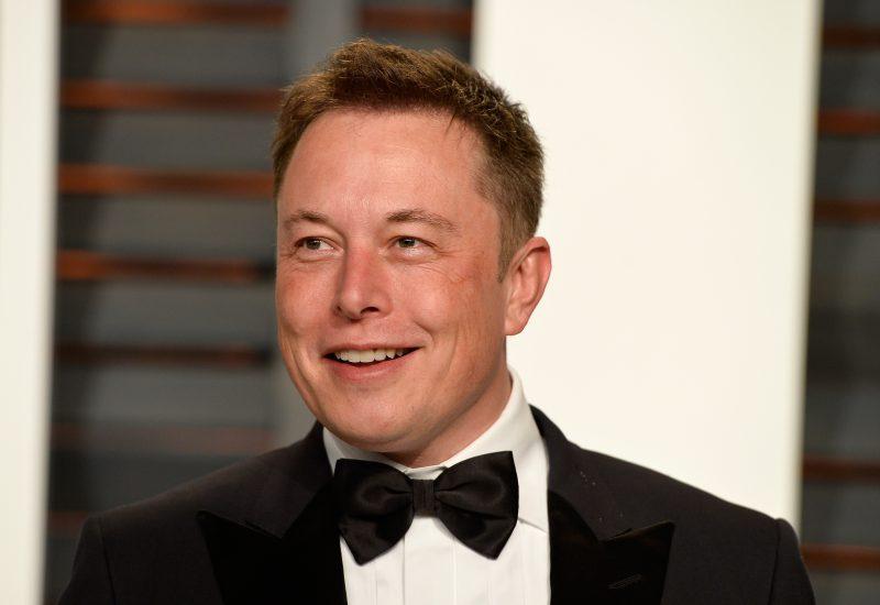 Elon Musk ad di Tesla