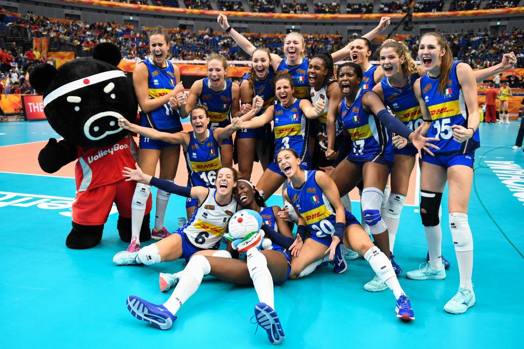 La nazionale italiana di volley