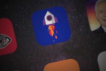 un razzo prende il volo