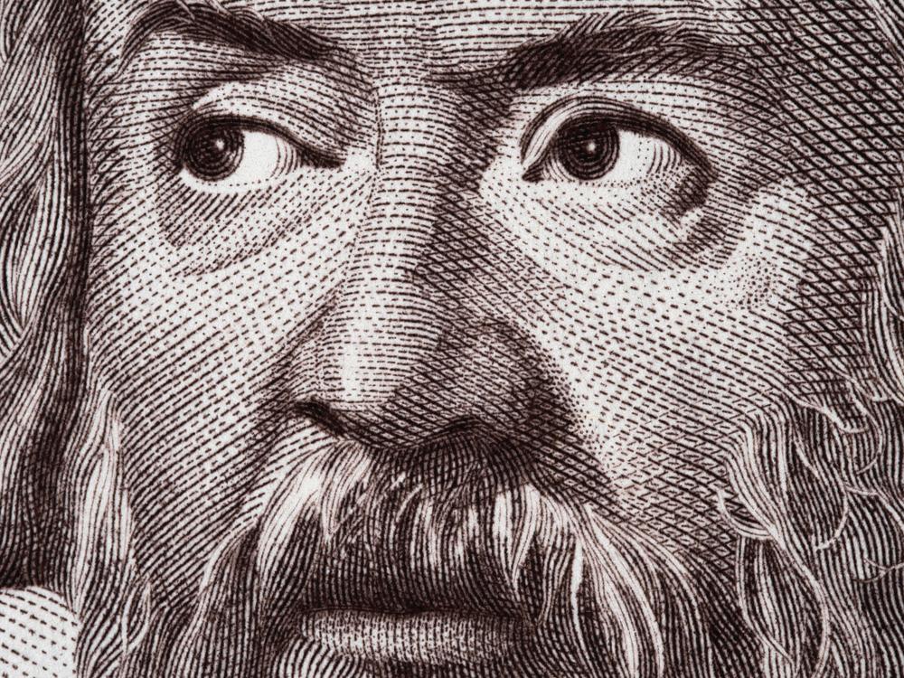 Galileo Galilei sulla banconota da 2.000 lire