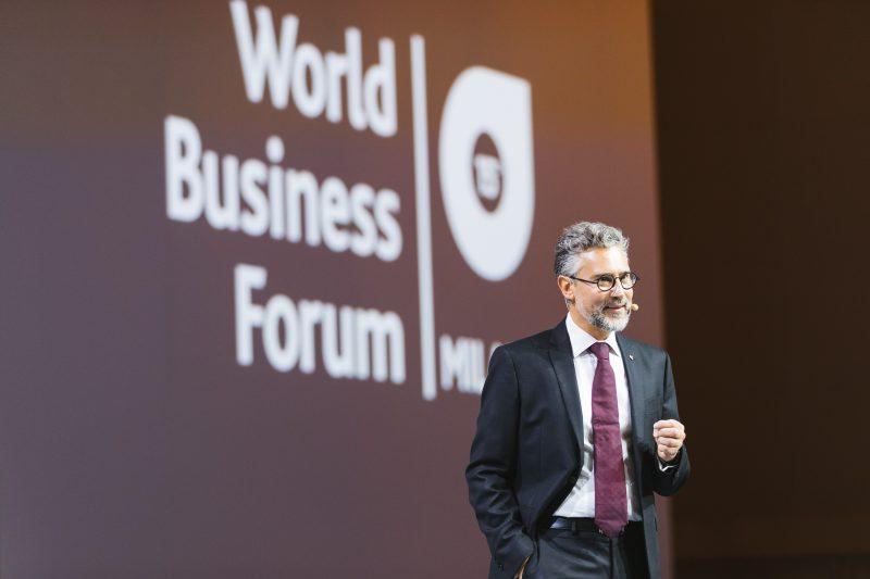 Josef Nierling al World Business Forum