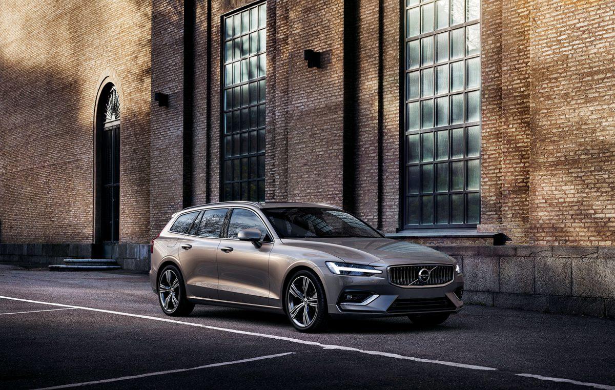 La nuova Volvo V60.