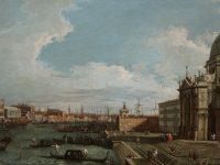Canaletto-Il Canal Grande verso il bacino di San Marco