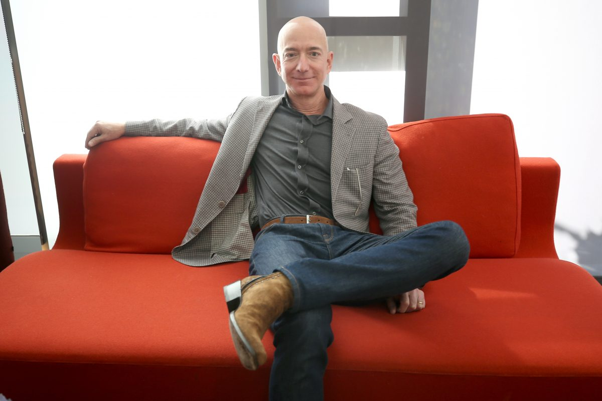 Jeff Bezos, ceo di Amazon
