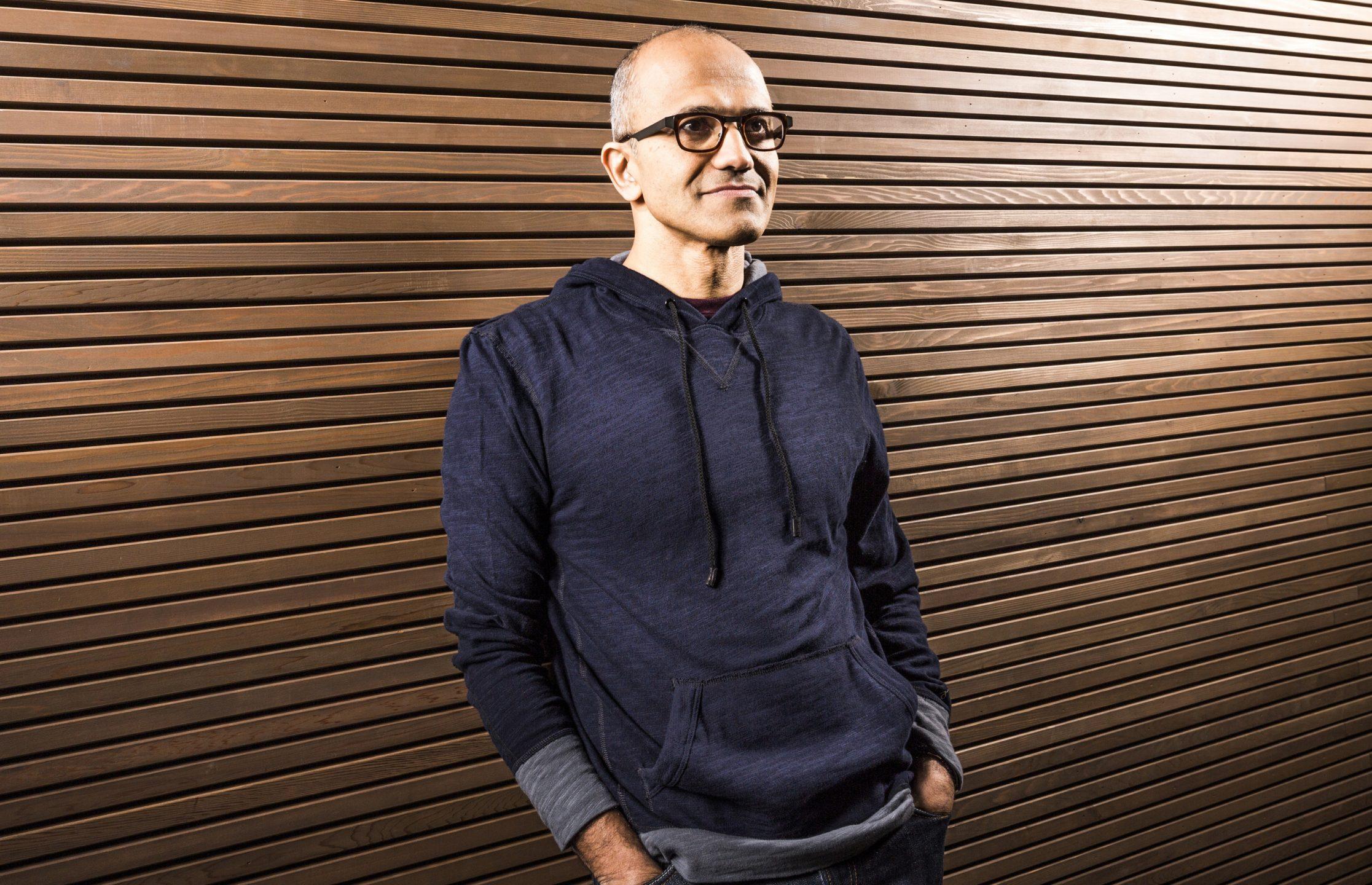 Il ceo di Microsoft Satya Nadella