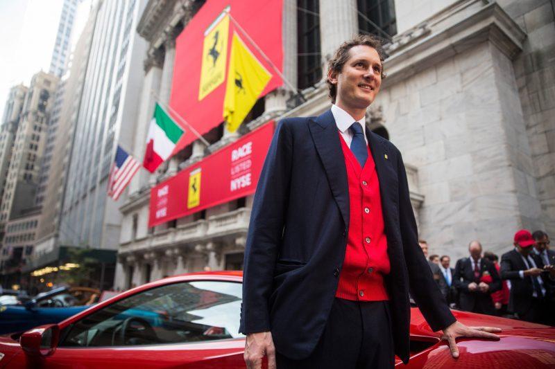 Ferrari John Elkann