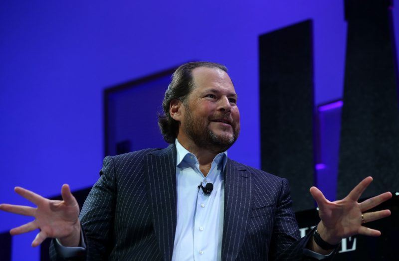 Marc Benioff, ceo e co-fondatore di Salesforce