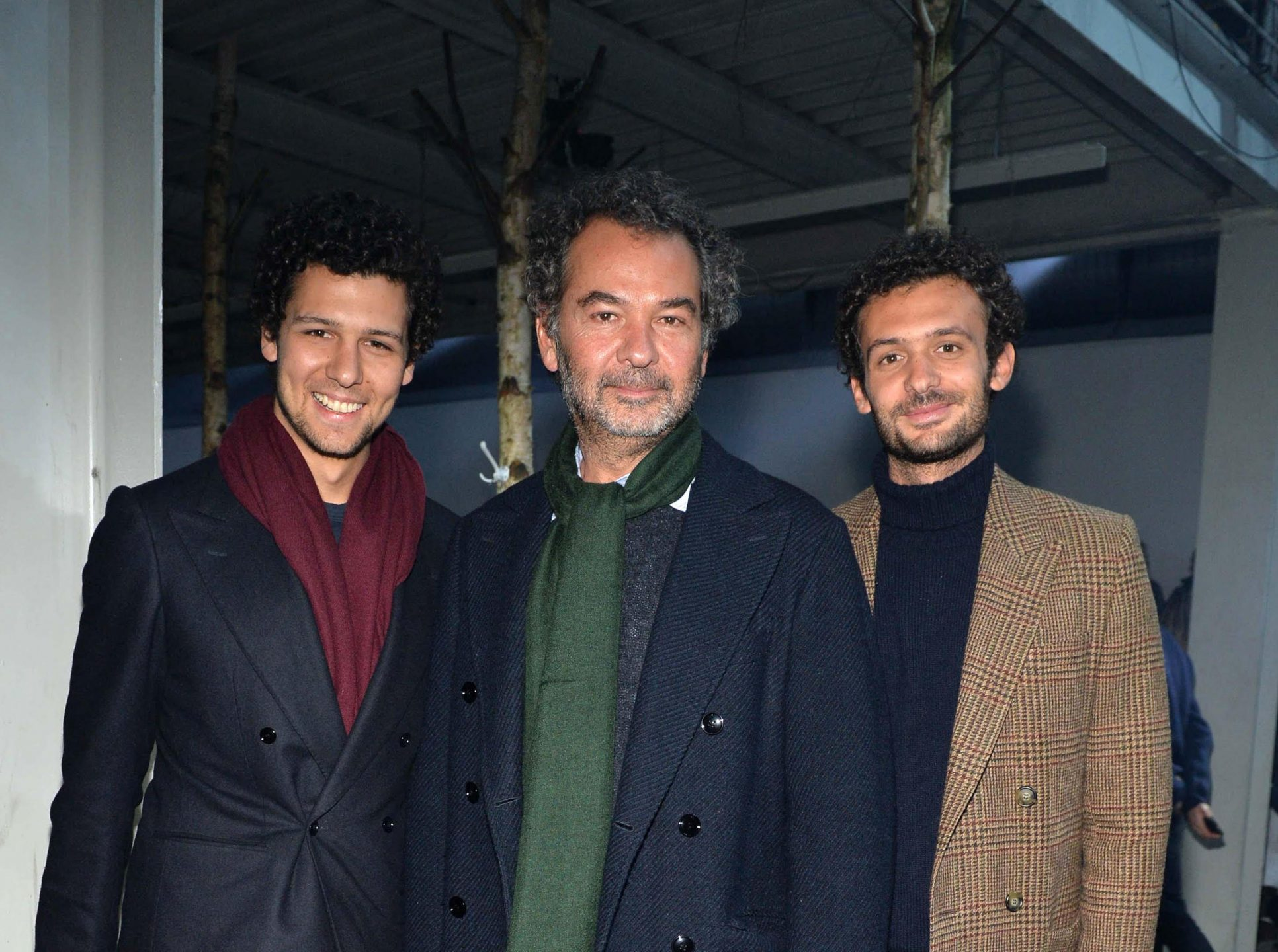 Romeo, Remo e Pietro Ruffini di Moncler