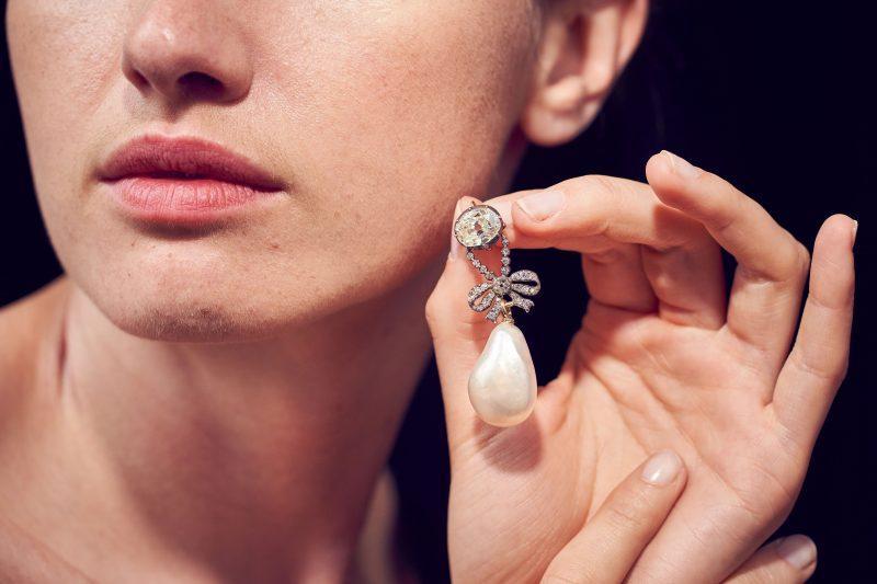 perla diamanti pietra