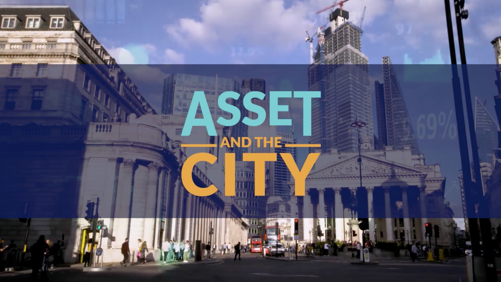 Un frame dalla sigla di Asset and the City