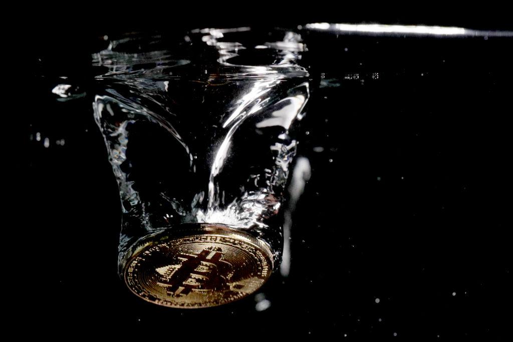 bitcoin nell'acqua