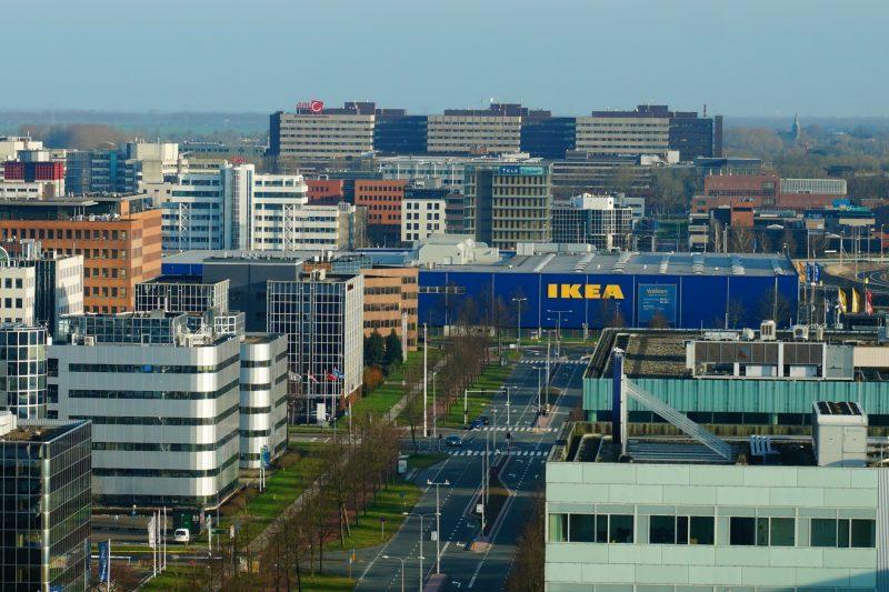 Centro Ikea tra gli uffici di Amsterdam