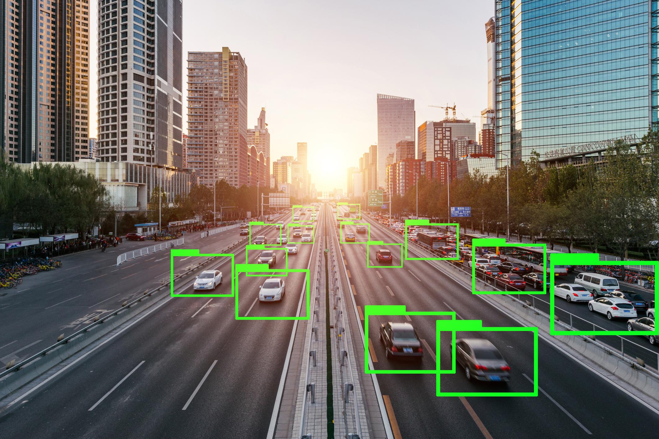 auto con intelligenza artificiale