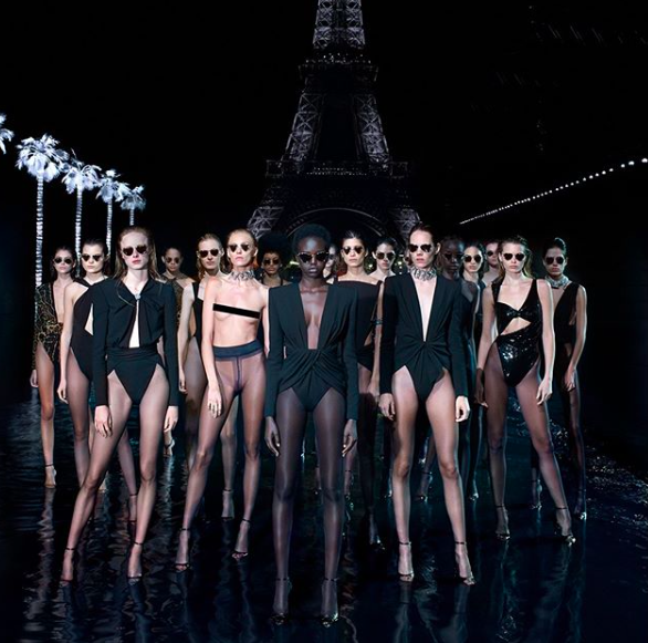 Saint Laurent e Vanessa Beecroft