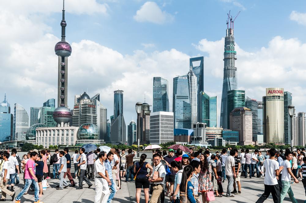 la pearl tower a shanghai
