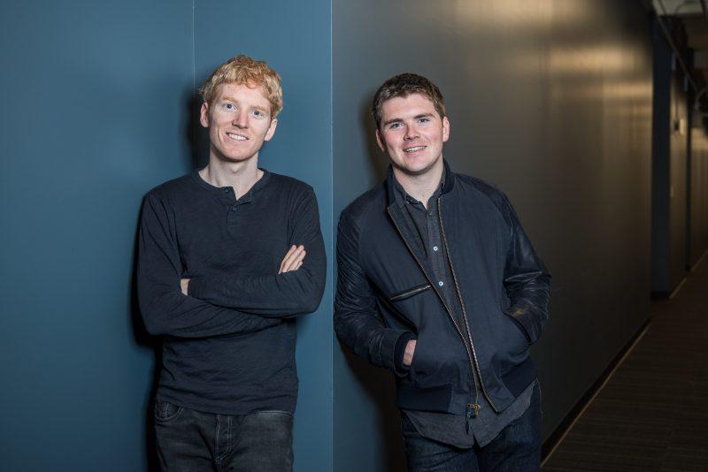 Startup fintech: i fratelli Collison fondatori di Stripe