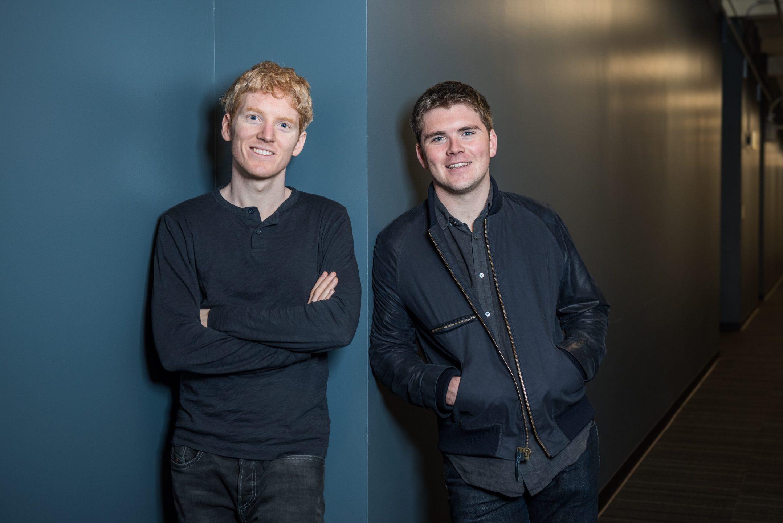 Startup fintech: i fratelli Collison, fondatori di Stripe