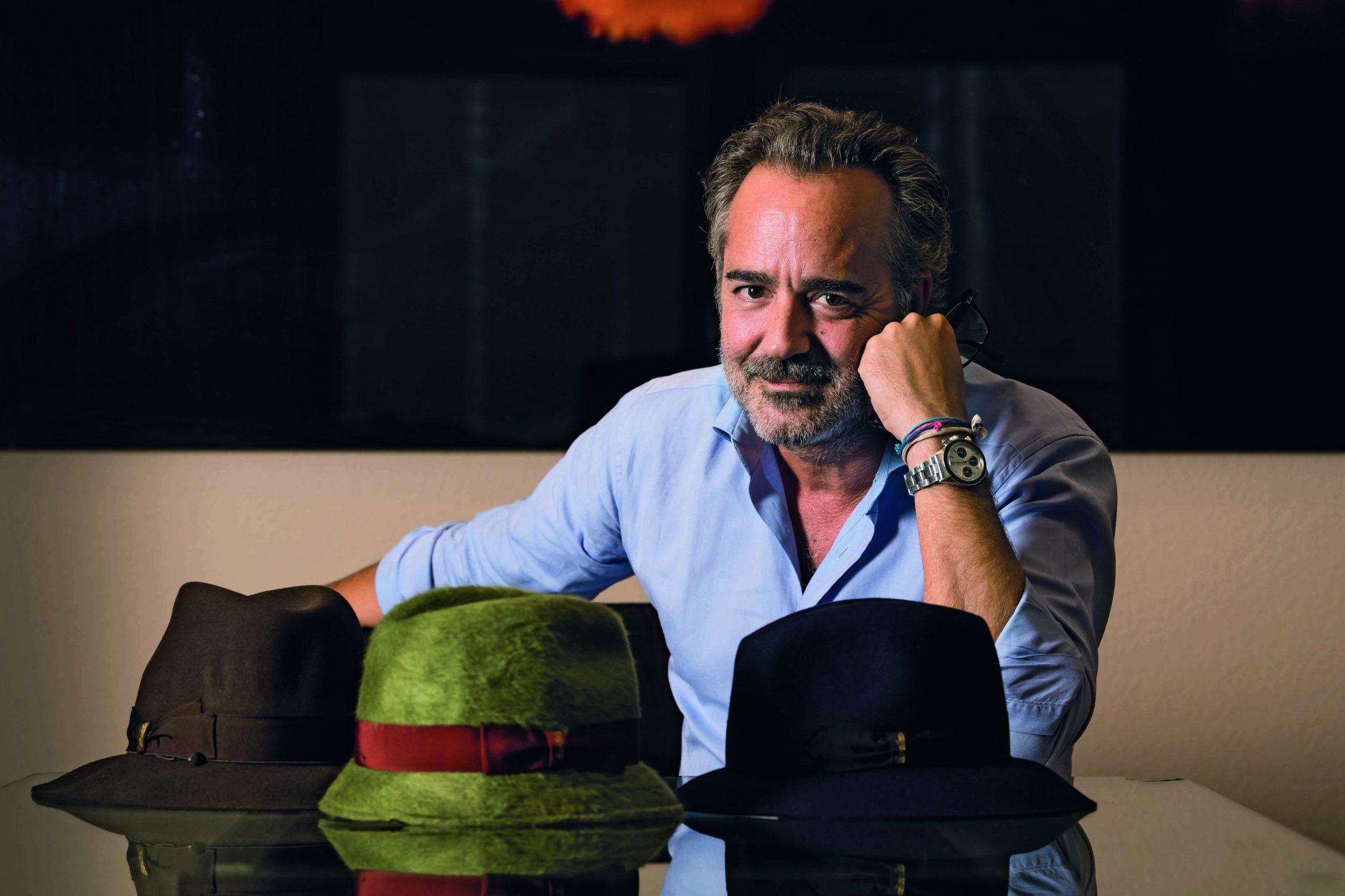 L imprenditore italo-svizzero Philippe Camperio è riuscito a salvare  Borsalino dal fallimento investendo più di 10 milioni di euro. (Lionel  Flusin dc097a1d1cae
