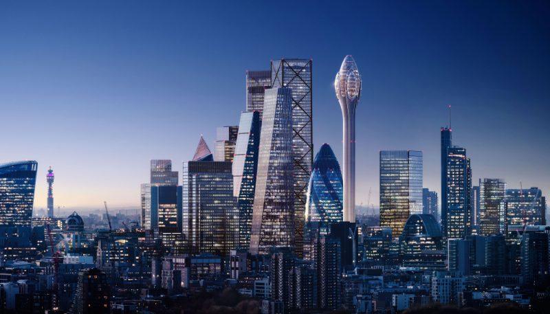 Londra e i suoi grattacieli