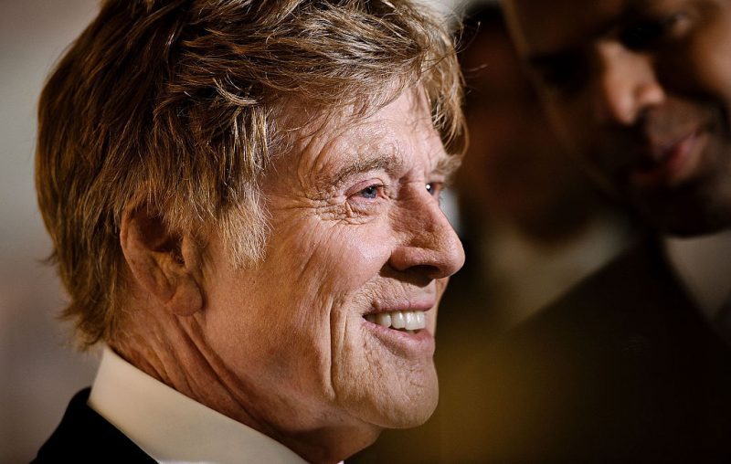primo piano di robert redford