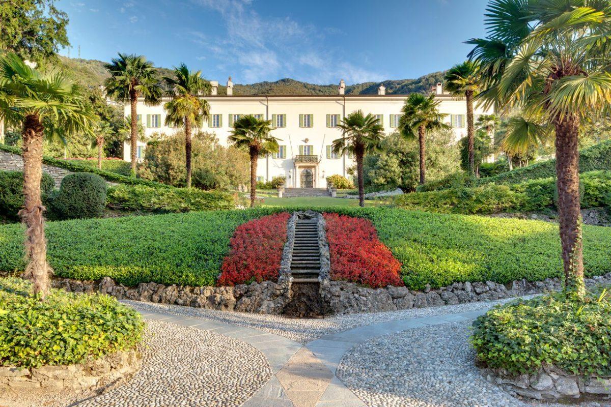 Sul Lago di Como ora si può soggiornare nella villa che ...