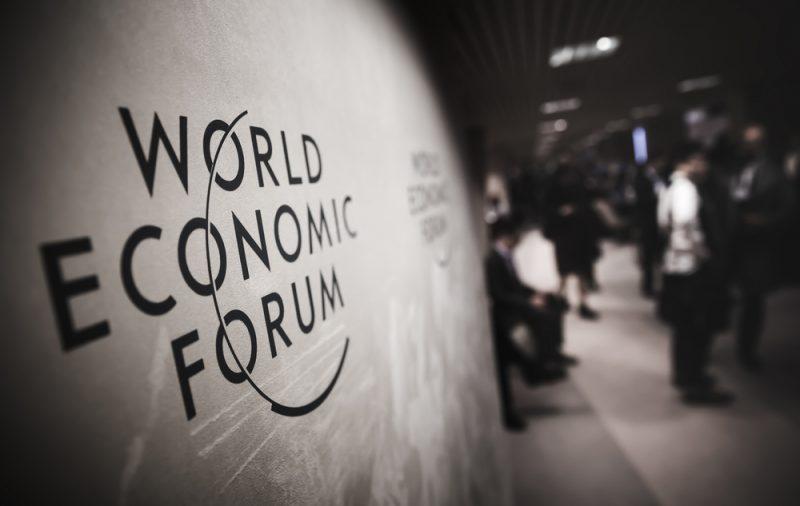 Pannello descrittivo dell'evento di Davos