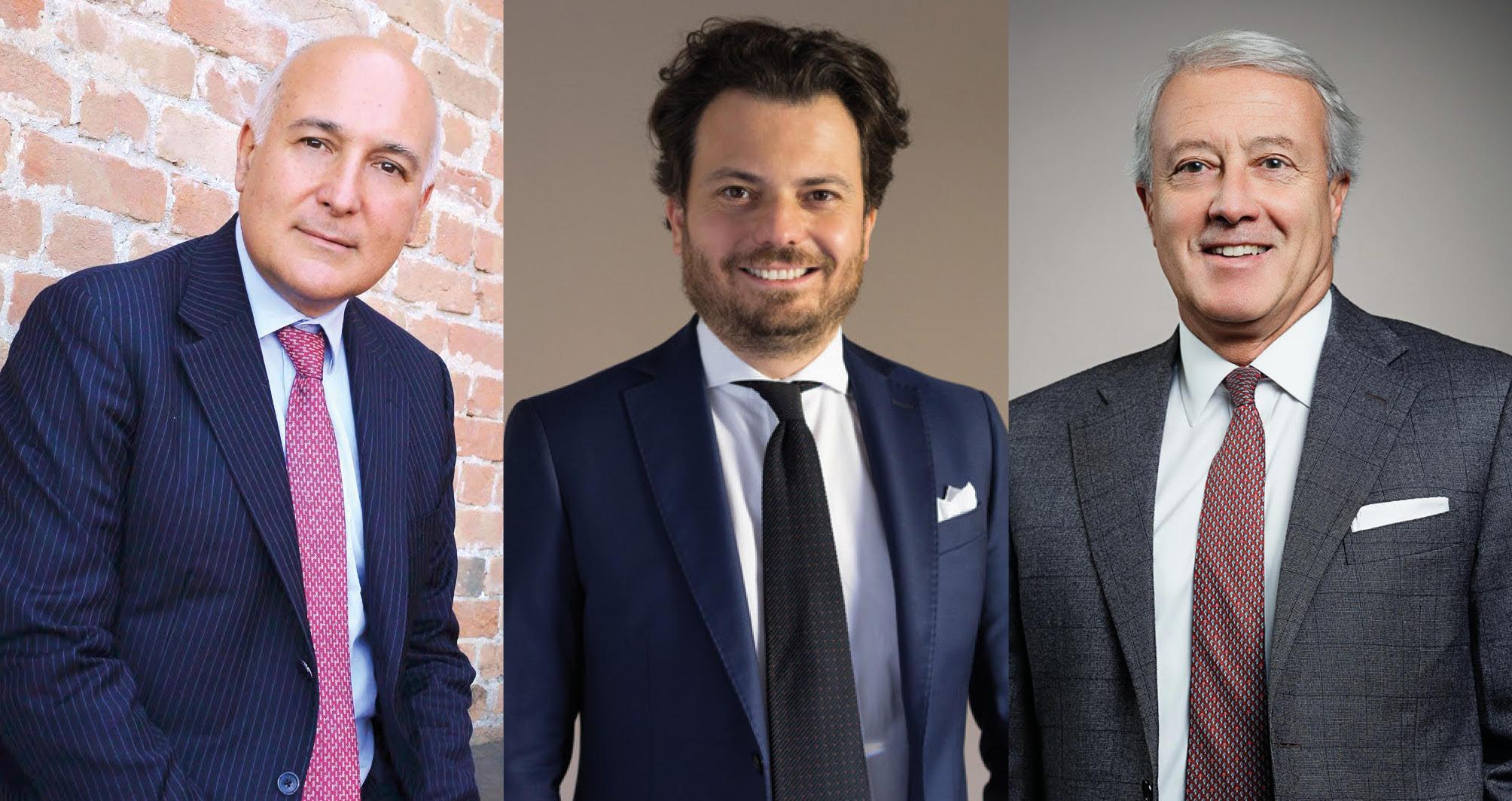 tre dei protagonisti della classifica