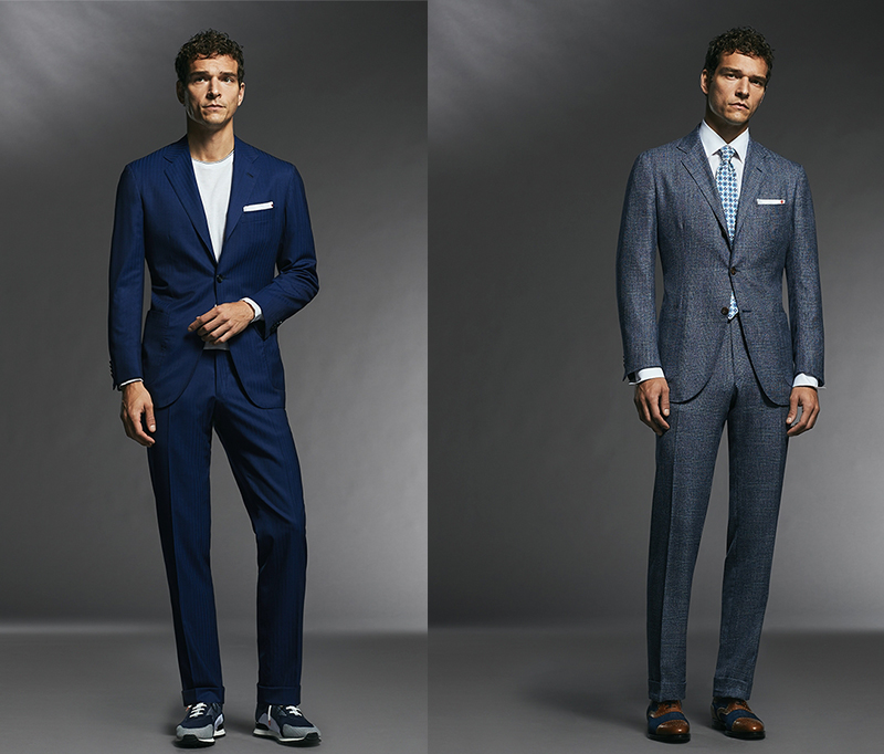 giacca camicia pantaloni