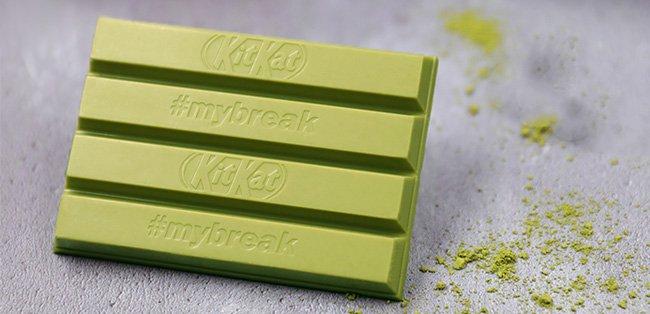 Nestlé lancia in Italia il KitKat verde al tè matcha