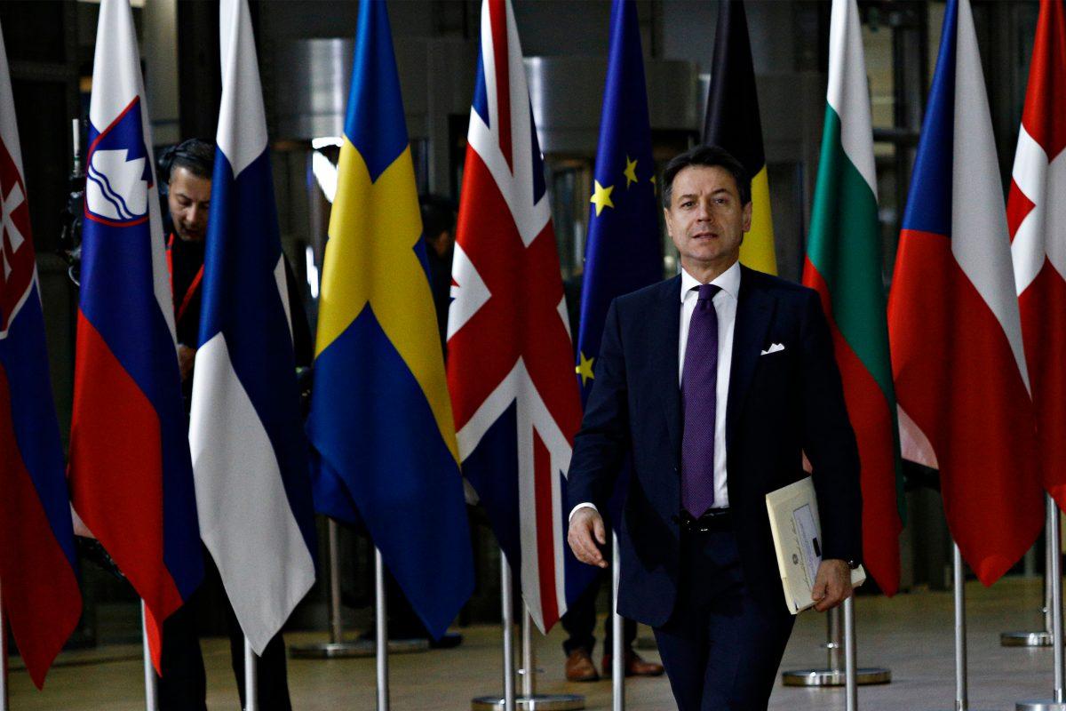 l'italia rischia il default a causa della crisi dettata dal coronavirus