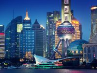 i grattacieli di Shanghai
