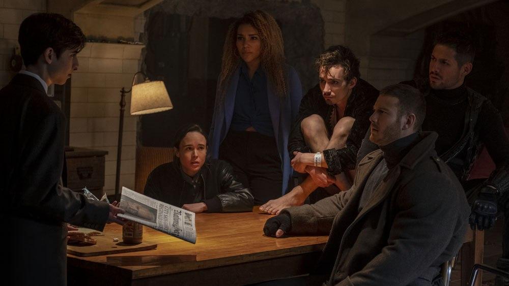 un'immagine tratta dalla serie tv