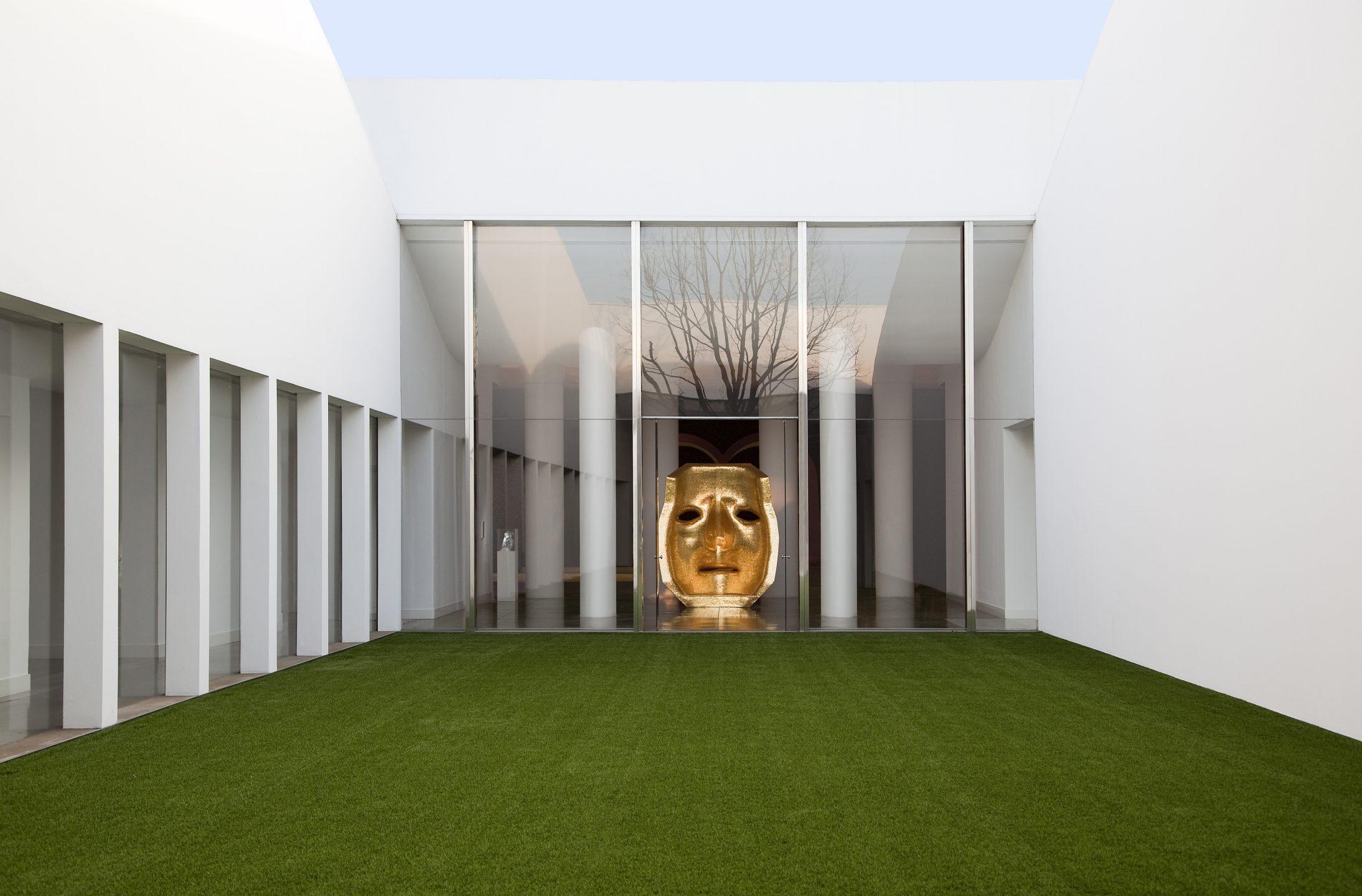 patio colonne vetro