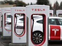 Impianto di ricarica Tesla