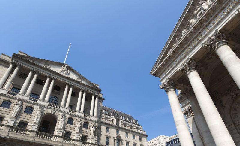 il palazzo della bank of england