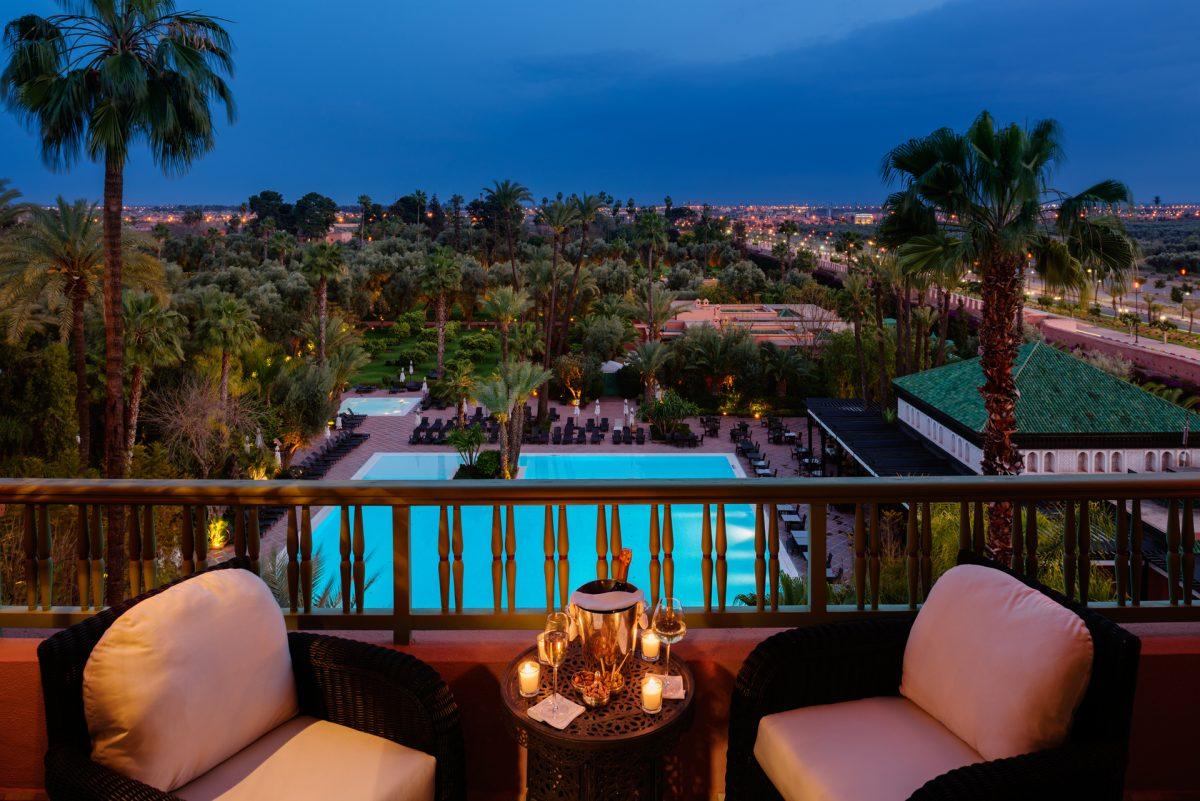 piscina sedie balcone
