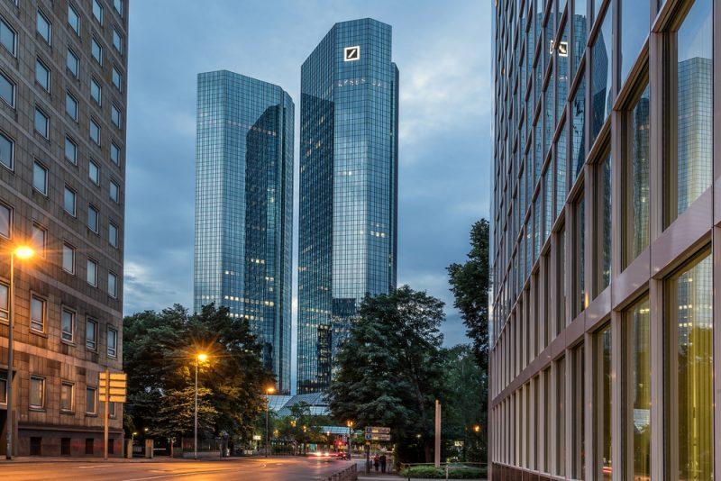 La sede di Deutsche Bank a Francoforte