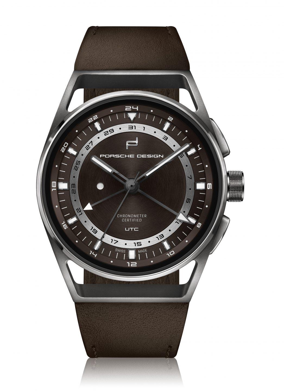 Orologio di lusso: Porsche Design 1919 Globetimer UTC Titanium Brown