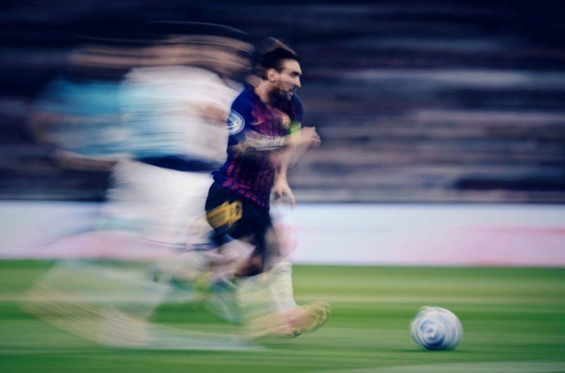uno scatto di Lionel Messi