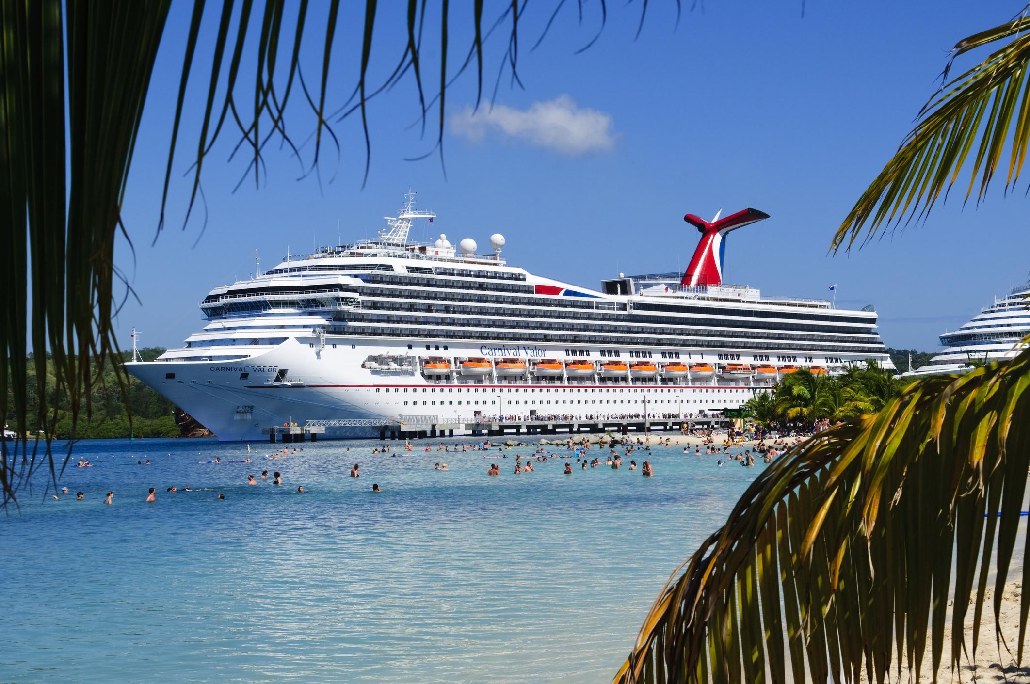 nave da crociera ai Caraibi