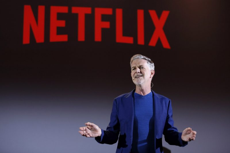 Reed Hastings, ceo di Netflix, il colosso dello streaming