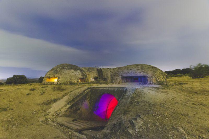 bunker nel terreno