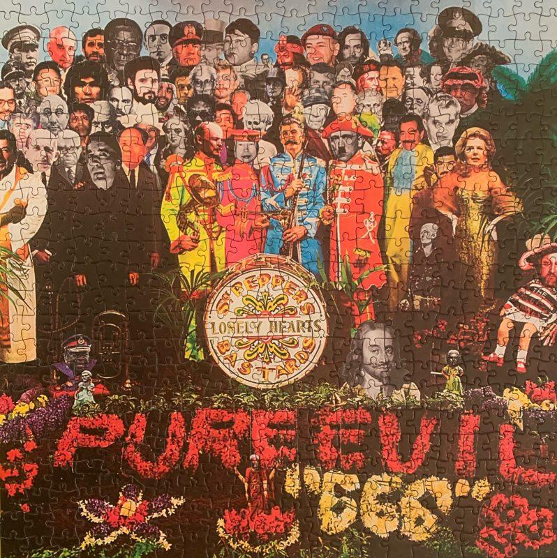 Una delle opere di Pure Evil