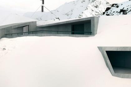 museo neve cielo