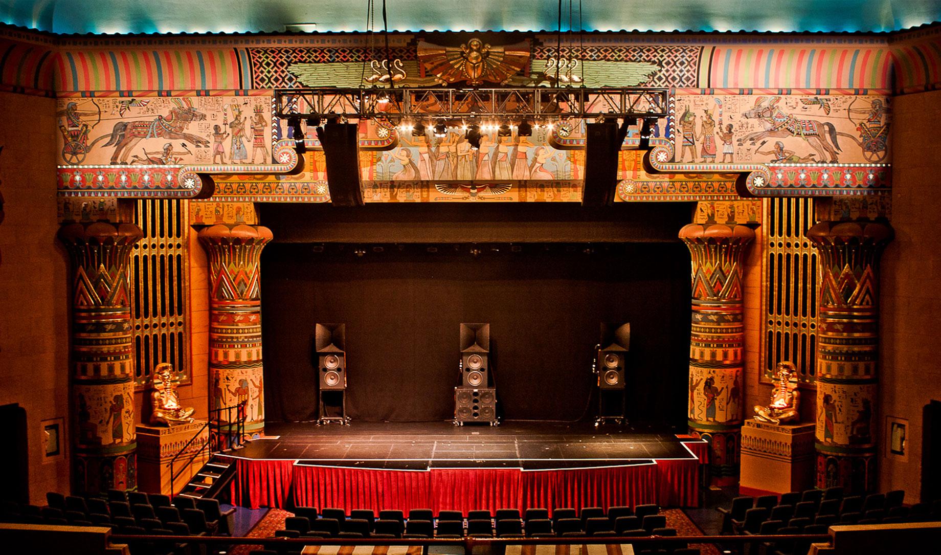 teatro palco rosso