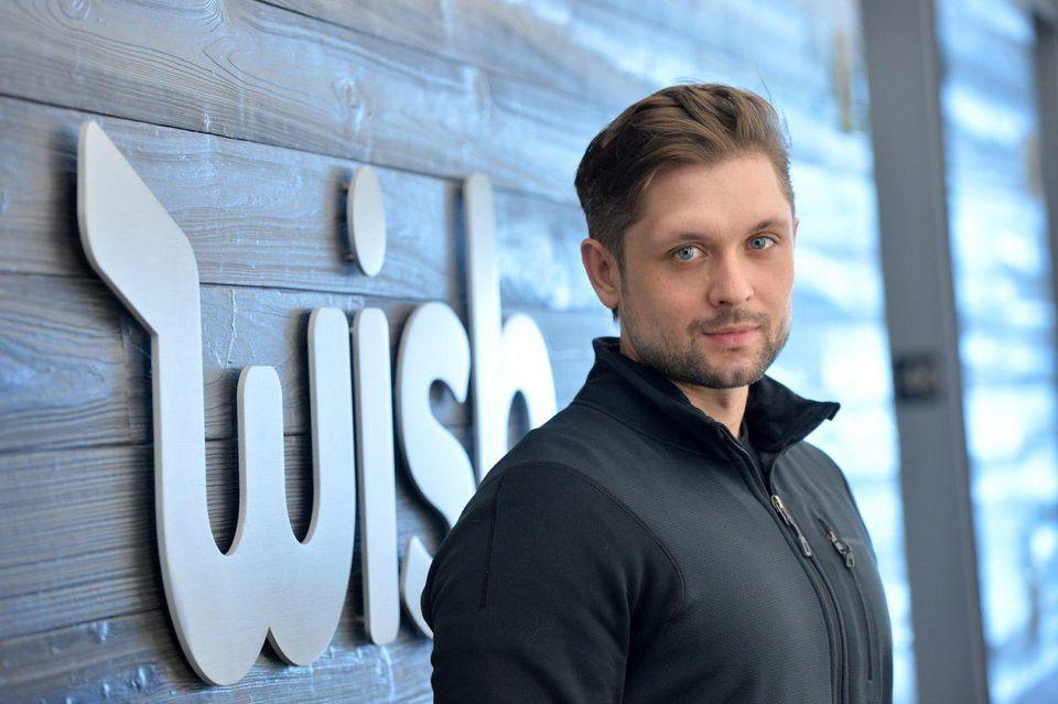 Peter Szulczewski, si prepara per l'ipo di Wish