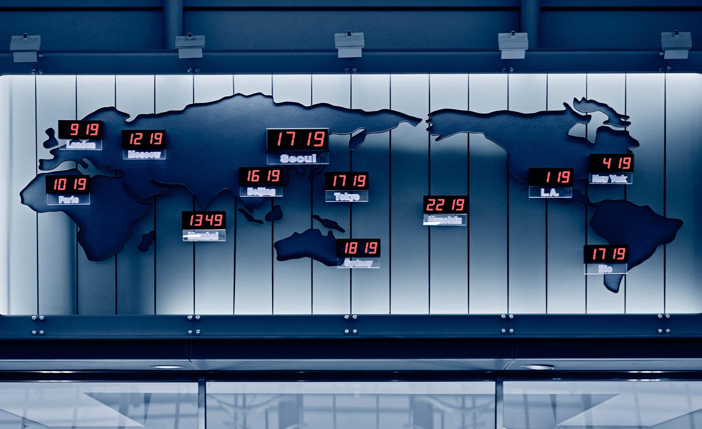 le ore nel mondo
