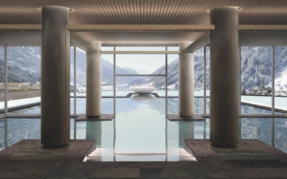 piscina colonne